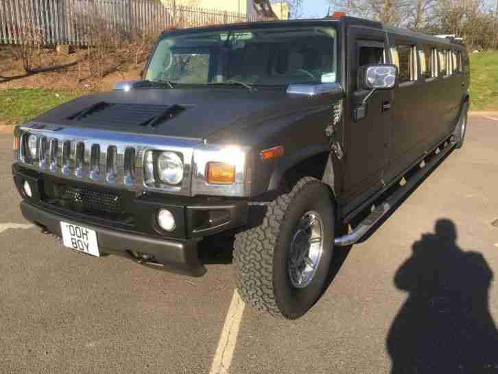 HUMMER H2 LINCOLN LIMOUSINE STRETCH LIMO H3 EXCURSION LHD IMPORT WEDDING CARS PX