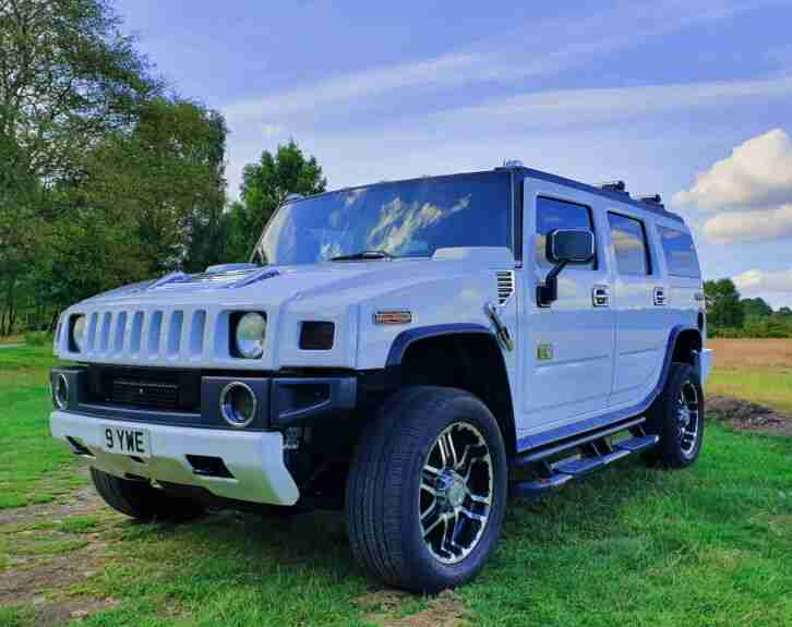 Hummer H2 LPG. Hummer car from United Kingdom