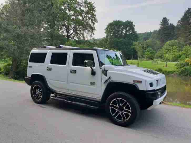 ****HUMMER H2 LUX**CHROME PACK HUGE SPEC**MUST BE SEEN BEST PRICED ON NET**LPG