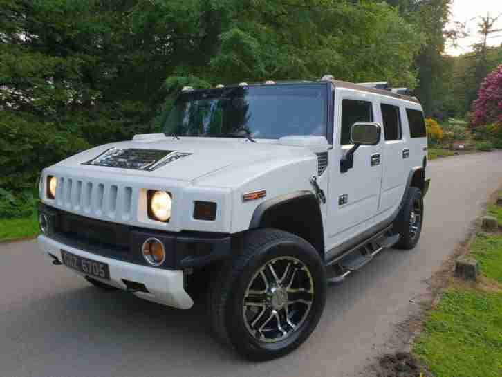 Hummer H2 LUX. Hummer car from United Kingdom