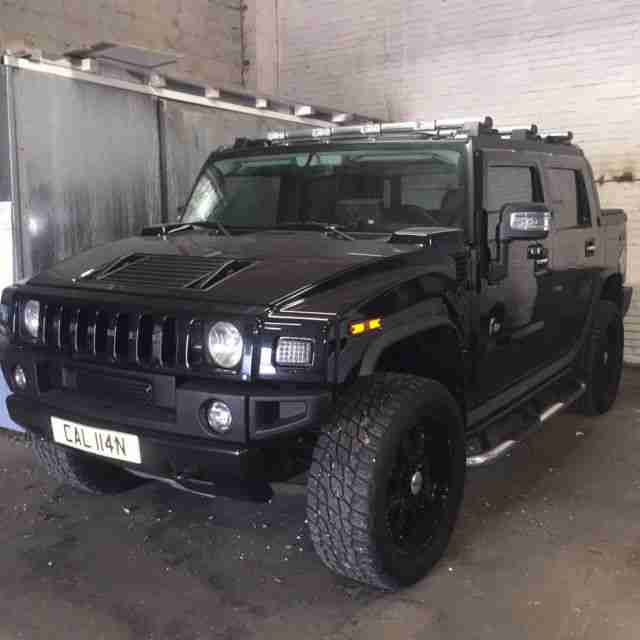 2003 Hummer H1 Interior: Hummer H2 SUT. Car For Sale