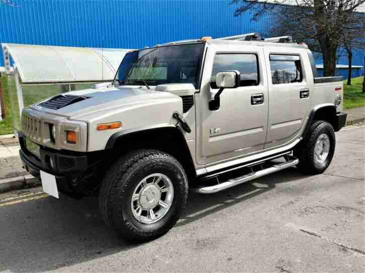 HUMMER H2 SUT PICK UP LOW MILES VERY RARE TO FIND 1 THIS CLEAN P X AMERICAN RV