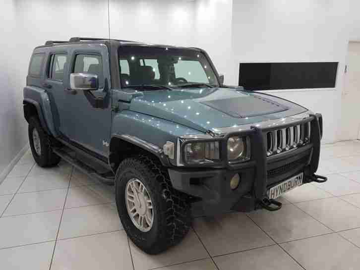 Hummer H3 2007. Hummer car from United Kingdom