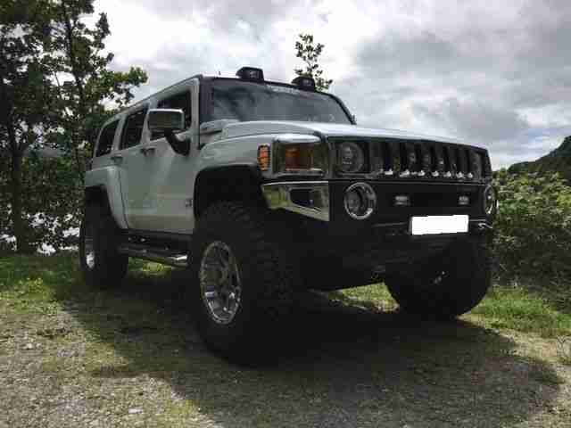 HUMMER H3 MONSTER TRUCK 2006 AMERICAN SUSPENSION LIFT 37's £1000's OF EXTRAS P/X