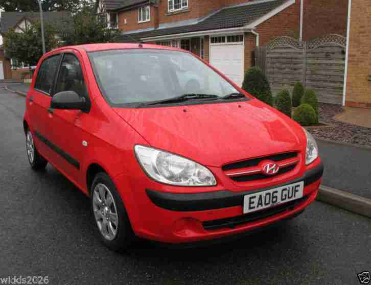 HYUNDAI GETZ 1.1 5 DOOR GSI LOW MILEAGE FSH ONLY 2 LOCAL KEEPERS BOTH KEYS ETC