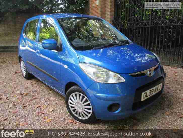 I10 ES 2009 Petrol Manual in Blue