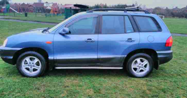 HYUNDAI SANTA FE SPARES OR REPAIR MOT'D DRIVES