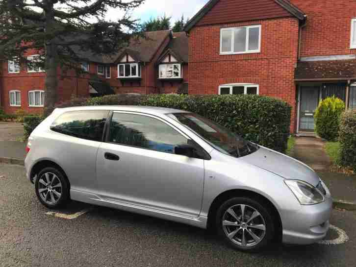 Honda Civic 1.4 3dr 2005 low mileage