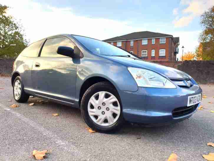 Honda Civic 1.4i S (90BHP) 85k Miles + PSH + MoT July 2019