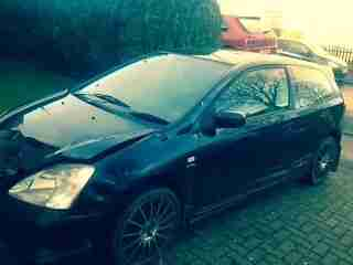 Honda Civic 1.6 Type S Damaged