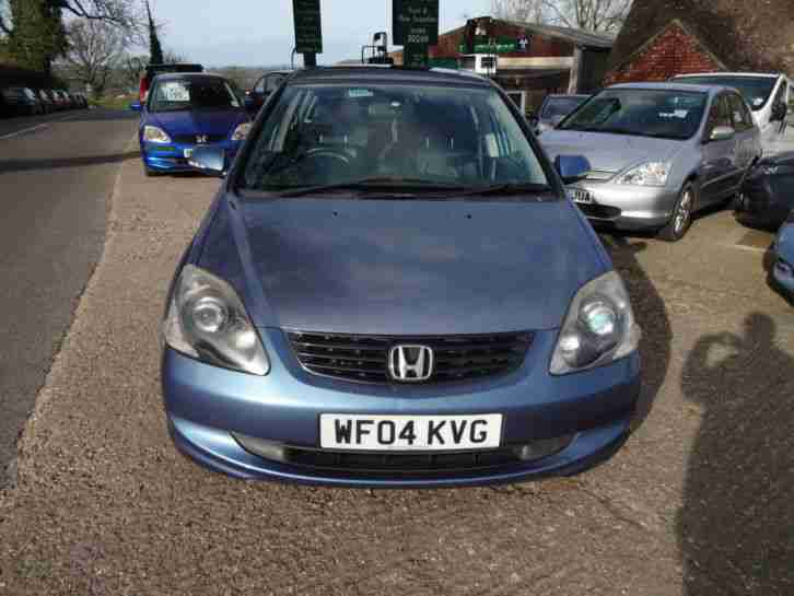 Honda Civic 1.6i. Honda car from United Kingdom
