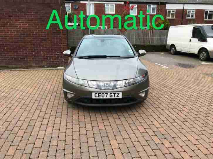 Honda Civic Automatic 5 Door Petrol 2007,Parking Sensors 1 Year Mot,Full History