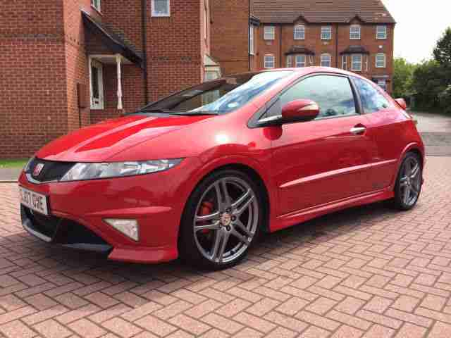 Honda Civic Type R GT 2007 FN2 Service history update