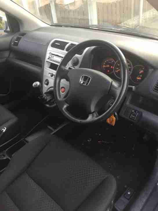 Honda Civic petrol 1.6l manual 5 doors Se vtec