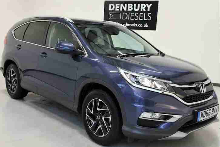 Honda Cr V I Dtec Se Plus Navi Estate 1.6 Manual Diesel