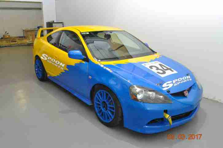 Honda Integra DC5 Race Car Spoon Sports, Track Car, Hill Climb, Sprint