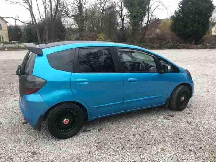Honda Jazz 2009. Honda car from United Kingdom