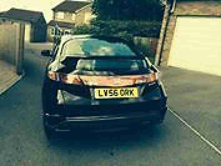 Honda civic 2.2 sei-ctdi diesel 5 dr car in black