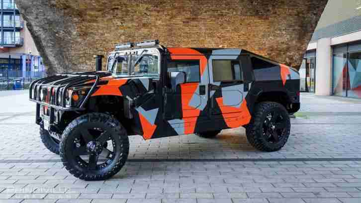 Hummer H1 Custom Slant back Upgraded Engine & Gearbox £120k Spent.