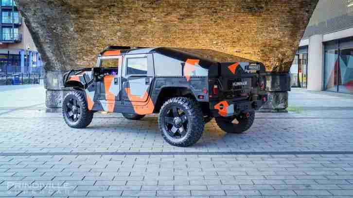Hummer H1 Custom Slant-back / Upgraded Engine & Gearbox / £120k Spent.