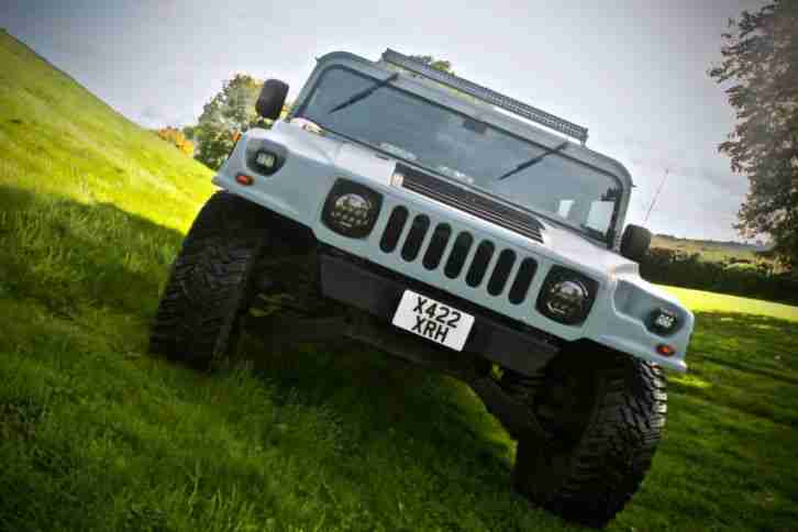 Hummer H1 . Hummer car from United Kingdom
