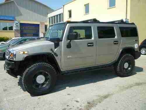 Hummer H2 2006 6.0 V8 AUTOMATIC LPG LHD 73000 MILES PX POSSIBLE