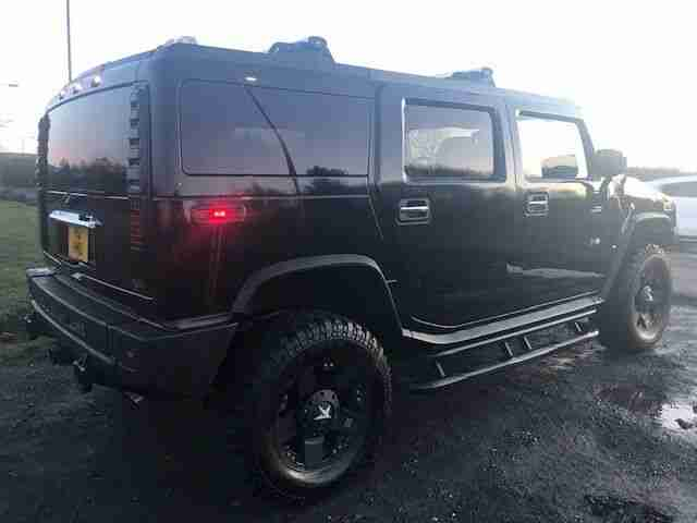 Hummer H2 6.0. Hummer car from United Kingdom
