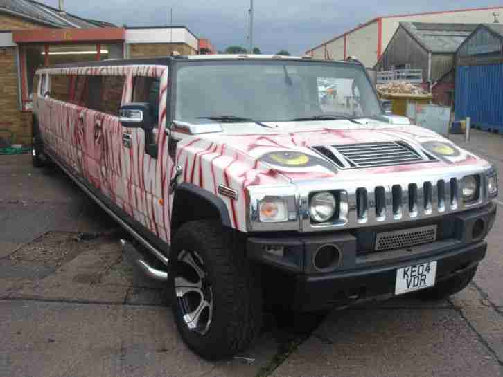 Hummer H2 Limousine with COIF