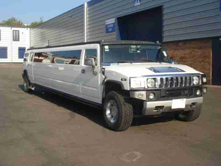 Hummer H2 Limousine with COIF 2008 Model