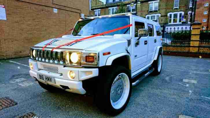 Hummer H2 rare 8 seater, Limousine, Limo, Wedding car, in excellent condition