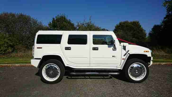 Hummer H2 rare. Hummer car from United Kingdom