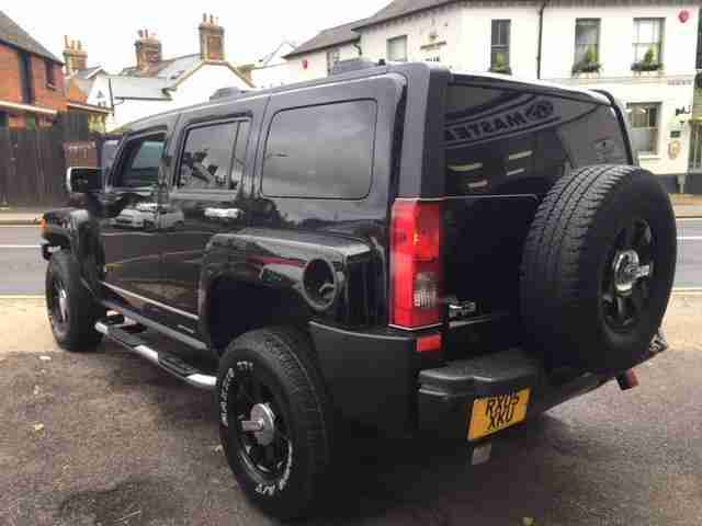 hummer h3 3 5 automatic 2006my for sale at master cars hitchin car. Black Bedroom Furniture Sets. Home Design Ideas