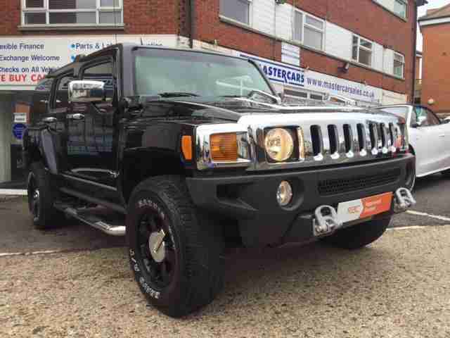 Hummer H3 3.5. Hummer car from United Kingdom