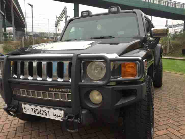 Hummer H3 3.7 73K Miles 4X4 Miles 2006 LHD
