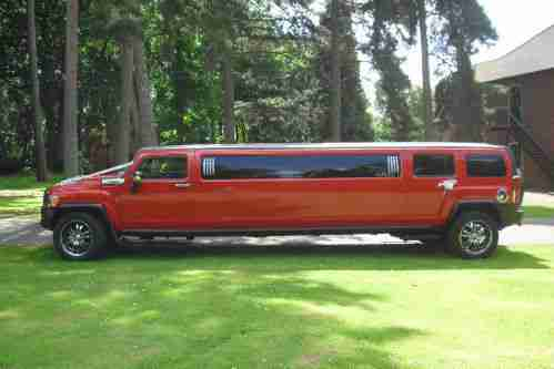 Hummer H3 3.7 Stretch Limousine 8 Seater Limo Hire