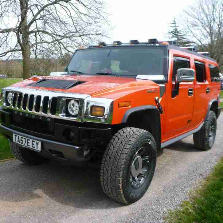 Hummer H2 6.2. Hummer car from United Kingdom