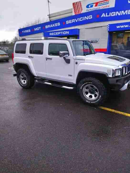 Hummer H3 rhd. Hummer car from United Kingdom