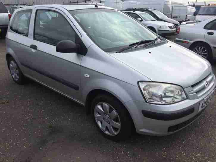 Hyundai Getz 1.1. Hyundai car from United Kingdom