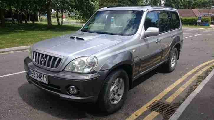 Hyundai Terracan 2.9 CRTD 4x4 Station Wagon 5dr Diesel LEFT HAND DRIVE AUTOMATIC
