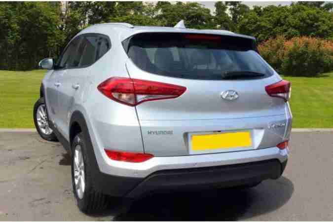 Hyundai Tucson 1.6 GDi >>> £545/m pay-as-you-go, all-inclusive subscription