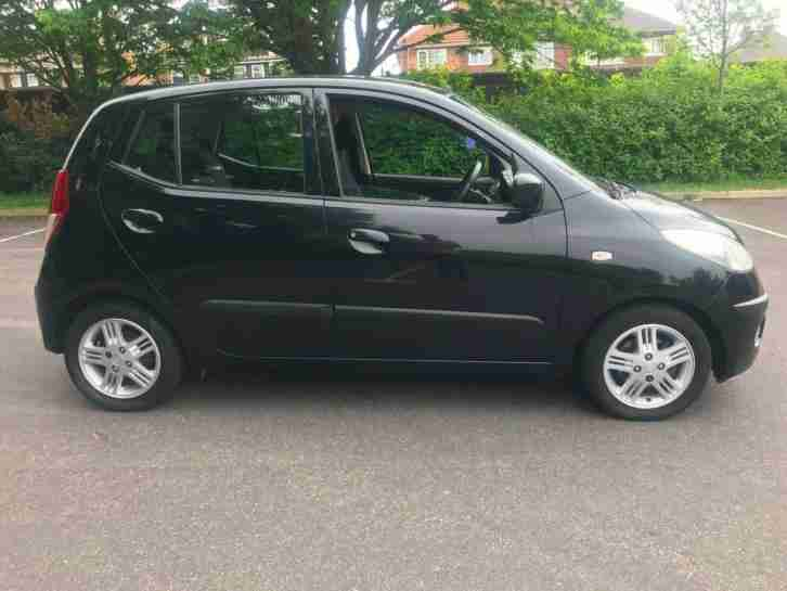 Hyundai i10 .1.1 comfort 2008 + 12 months test + NEW CLUTCH + £30 TAX + 5 door +