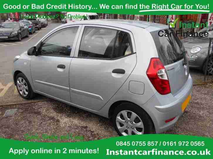 Hyundai i10 1 2 85bhp 2011my classic good bad credit for Hyundai motor vehicle finance