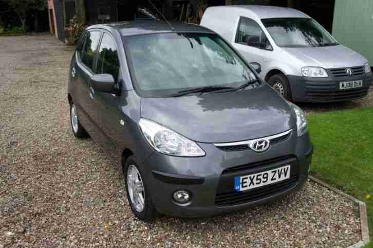 Hyundai i10 1.2 Comfort 5 Door 5 Speed Manual 59/2009 Hatchback Petrol