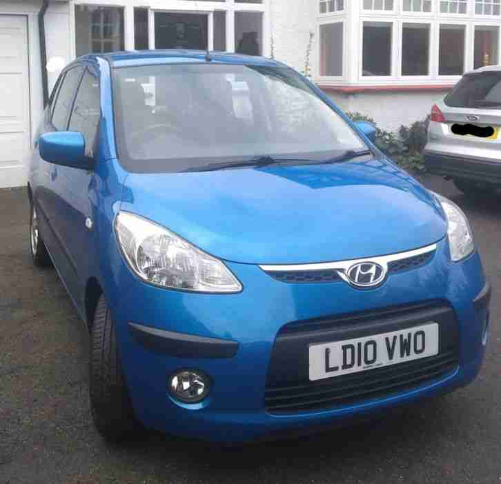 Hyundai I10 Comfort. Hyundai car from United Kingdom