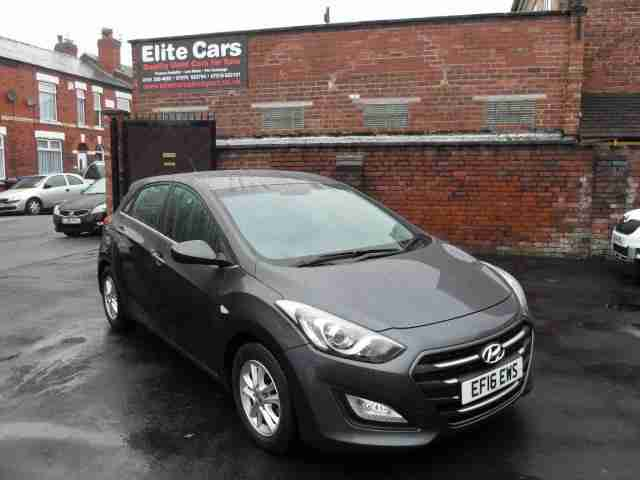 Hyundai i30 1.6CRDi ( 110ps ) Blue Drive 2015 SE 5 Door Manual Diesel Grey