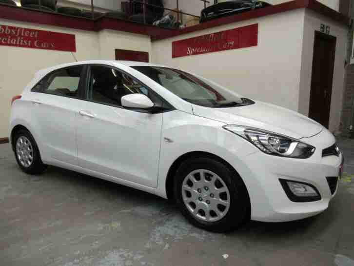 Hyundai I30 1.6CRDi. Hyundai car from United Kingdom