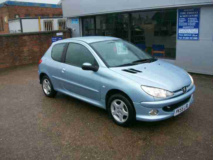 31ce494c951e Peugeot IMMACULATE 55 PLATE 206 1.4 16v 90 SPORT. car for sale