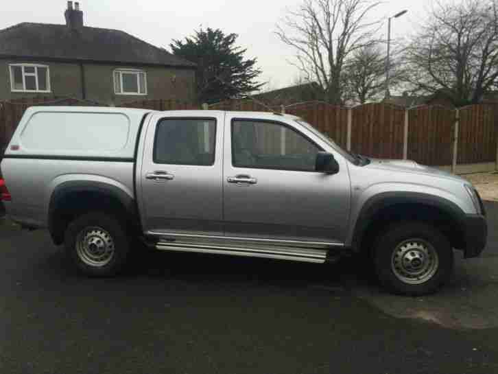 Isuzu 4X4 DOUBLE. Isuzu car from United Kingdom
