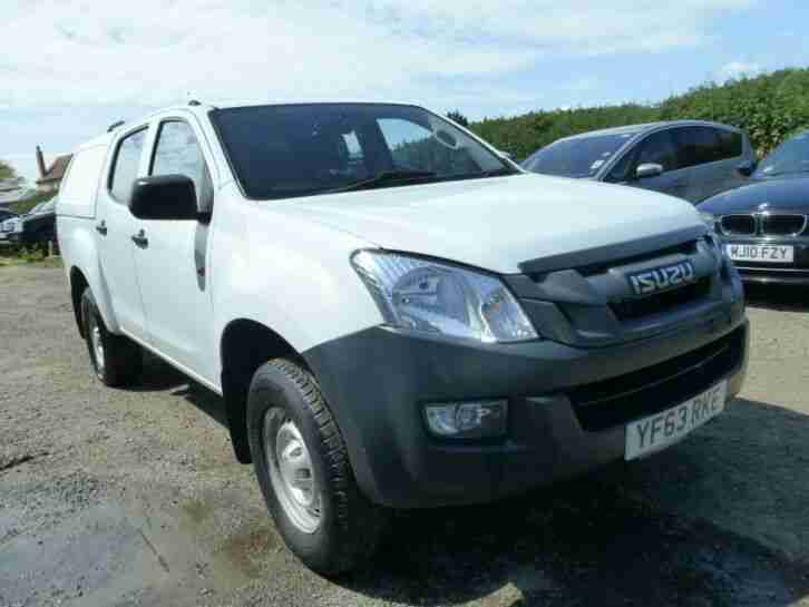 ISUZU D MAX TD DCD, SPARES OR REPAIRS, EXPORT, REPAIRABLE, DAMAGED, SALVAGE