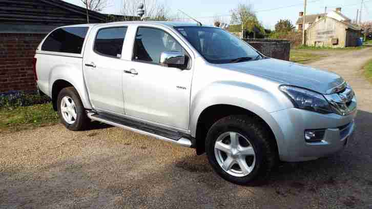 D MAX YUKON TWIN TURBO DOUBLE CAB 15REG